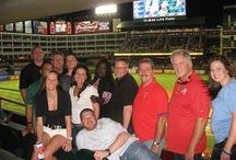 Liberty National at Globe Life Park / Liberty National contest winners love livin' it up in Torchmark Corporation's suite at Globe Life Park / by Liberty National Ladies