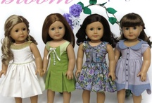 "American Girl 18"" Doll Clothes patterns / by Hollee Brutton"