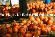 Fall Fun / Anything to make FALL fabulous! / by Worthy of the Prize