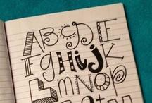 Lettering & Fonts / by Christina Kocisko