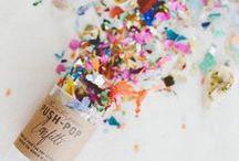 Confetti / by Claudia Smith   Fig. 2 Design Studio