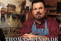Thomas Kinkade / by Kristina Barnes Jordan