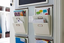 Organizational stuff for work & home / by Beth Helman
