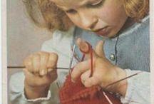 crochet and knitting / by Wayne Lenox