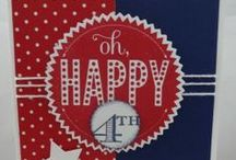 All 4th  of July cards / by Angela  C Fernandez