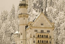 Castles, chateaux, and other amazing homes / by Barbara Garrett
