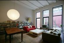 Monapart Living Rooms / Heart-stirring living rooms of some of the most atypical homes in Barcelona. / by Monapart