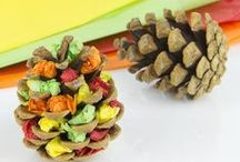 Fall Kids' Crafts / Fun fall-themed craft projects to get in the spirit of the season including fall crafts for kids, amazing fall kids' crafts, autumn crafts for kids, crafts for fall you'll love, and more!  / by AllFreeKidsCrafts