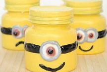 Mason Jar Crafts for Kids / These mason jar crafts and mason jar ideas are surprisingly simple. They look amazing, but a kid could make them!  / by AllFreeKidsCrafts