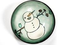 Snowmen / by Sunbasilgarden Soap