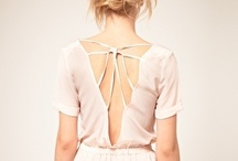 Dos nus // Backless / by Ann Cha