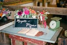 Guest Book Ideas / by OneWed