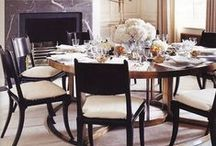 Dining Room Inspirations / Conversation starts around the dining table, create a room to enjoy your recipes with that one special person, or a group of friends and family.  / by Beatriz Ball Collection