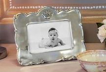 BABY, BABY, BABY Heirloom gifts / Heirloom quality baby gifts, precious in #baby #nursery. #Baby picture frames, #baby trays, #baby bowls. Made entirely by hand, one at a time. Easy care, never polish. Ideal as #unique #baby #shower #gifts, #baptisms, #first communion / by Beatriz Ball Collection