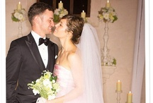 Celebrity Brides / Gorgeous celebrity brides throughout the years. / by Wedding Party