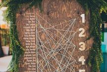 Centerpieces & Seating Chart Ideas / Wedding centerpiece and seating chart ideas for your wedding reception. / by Wedding Party