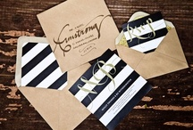 Wedding Stationery / Wedding invitations, programs, menus, and other pretty printed goods! / by Wedding Party