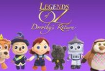 "Toys / Toys from the film ""Legends of Oz: Dorothy's Return"" in theaters May 9th! / by Legends of Oz"