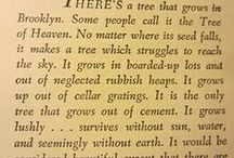 """""""A Tree Grows in Brooklyn""""  inspired... / ... / by Michele Fasano"""