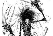 Mr. Burton's Macabre Mayhem / The Art and Films of and inspired by Tim Burton / by Lisa Kay Tate
