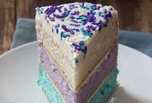 Cakes, desserts & cookies 1 / cake dessert cookies baking / by Hayley G