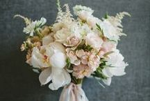 ideas for Lindsey H... / August 31, 2013 Mendon, MA gray burlap, white lace and blush flowers / by the flower girl