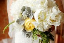 ideas for Jess... / November 10, 2013 Quincy, MA- dark grey dresses with gold and gray florals / by the flower girl