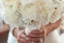 ideas for Tia... / Nov 2, 2013 West Warwick, RI- Kelly green dresses all white flowers with bling / by the flower girl