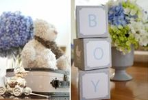 it's a boy! / baby shower flowers / by the flower girl