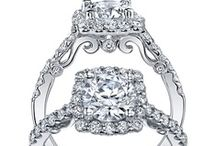 """Verragio Diamond Rings / Designer Barry Verragio explains: """"A beautiful mounting should only enhance the beauty of a diamond in the same way a beautiful dress makes a woman even more beautiful."""" This philosophy is reflected in all Verragio rings.   The Ultimate Symbol of Commitment / by Skatells Jewelers"""