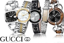 GUCCI Watches / Ladies and Mens Gucci Watches / by Skatells Jewelers