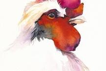 Watercolor Animals  / by Sammie Justesen