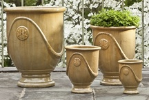 Glazed and Ceramic Planters and Fountains / by Garden-Fountains.com