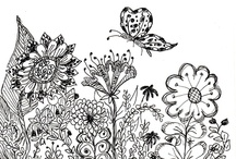 Coloring Pages / by Sharon Miller Wagner