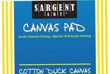 Boards & Canvas Supplies / by DIY Craft Projects