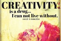 Its All About Creativity / Articles + images to help you kick start your creativity. / by Kristal Norton
