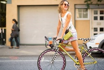 Bicycle Chic / Here are some inspirational pictures that I used to create my store Eleanor's in Brooklyn, NY. www.eleanorsnyc.com / by Eleanor's