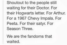 Harry Potter, Supernatural, Star Wars, & Other Nerd Obsessions / Rkfmjtrdymiuoiuysertiotyikjyhtrwem.  Nerd and proud. / by Jessica Stewart