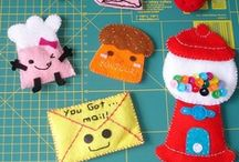 Misc Felt Crafts / by Imagine Our Life