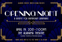 Opening Night: A Benefit for Birmingham Landmarks / by Alabama Theatre