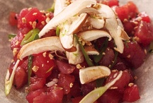 Tuna Tartare with Ginger and Shiitake Mushrooms / by Rocco DiSpirito