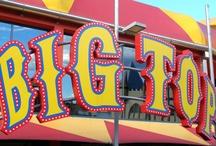 Circus: Big Top & Sawdust / by stellarorbit ❀