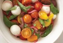 Tomato and Bocconcini Salad / by Rocco DiSpirito