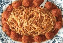 My Mama's Spaghetti and Meatballs / by Rocco DiSpirito