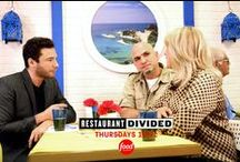 Restaurant Divided - Thursdays at 10/9c on Food Network / In my new Food Network show Restaurant Divided, I help families conflicted on how to save their struggling restaurants. I literally divide the restaurant in half, testing out two different concepts and judging on how each performs, will make my decision on which concept stays. Tune-in to Food Network Thursdays at 10/9c!  / by Rocco DiSpirito