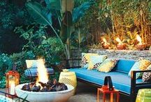Outdoor Spaces / by Kathy Tapley