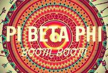 Pi Beta Phi / by Hailey Savage