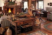 Primitive Furniture/Decor / by Lorrie B.