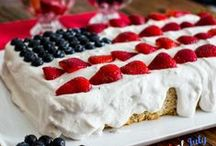 Vegan 4th of July / Ev'ry heart beats true 'neath the (vegan) Red, White and Blue! / by Earth Balance