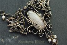 wire wrapping jewelry / by Sharon Gowryluk